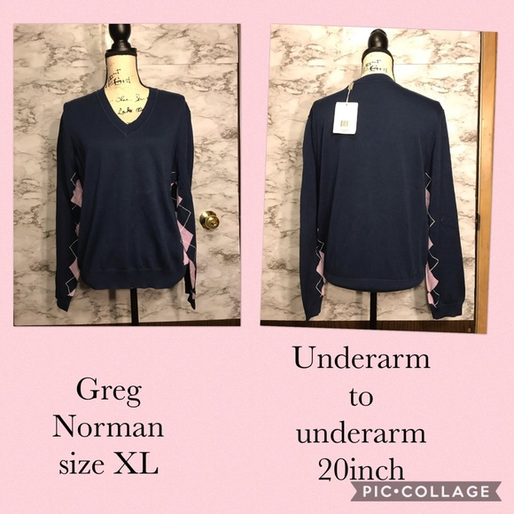 Greg Norman Collection Tops - Greg Norman size xl A1